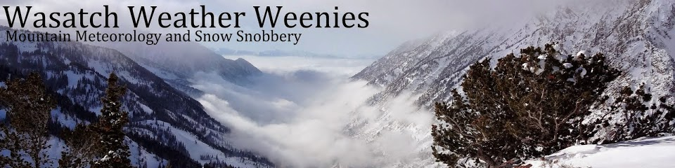 Wasatch Weather Weenies - Mountain Meteorology and Snow Snobbery Blog