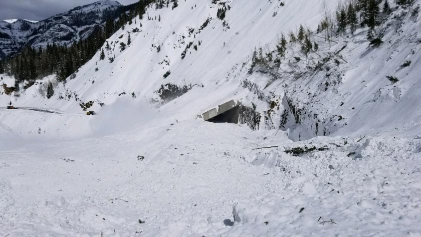 Hwy 550 Snow Shed - CDOT