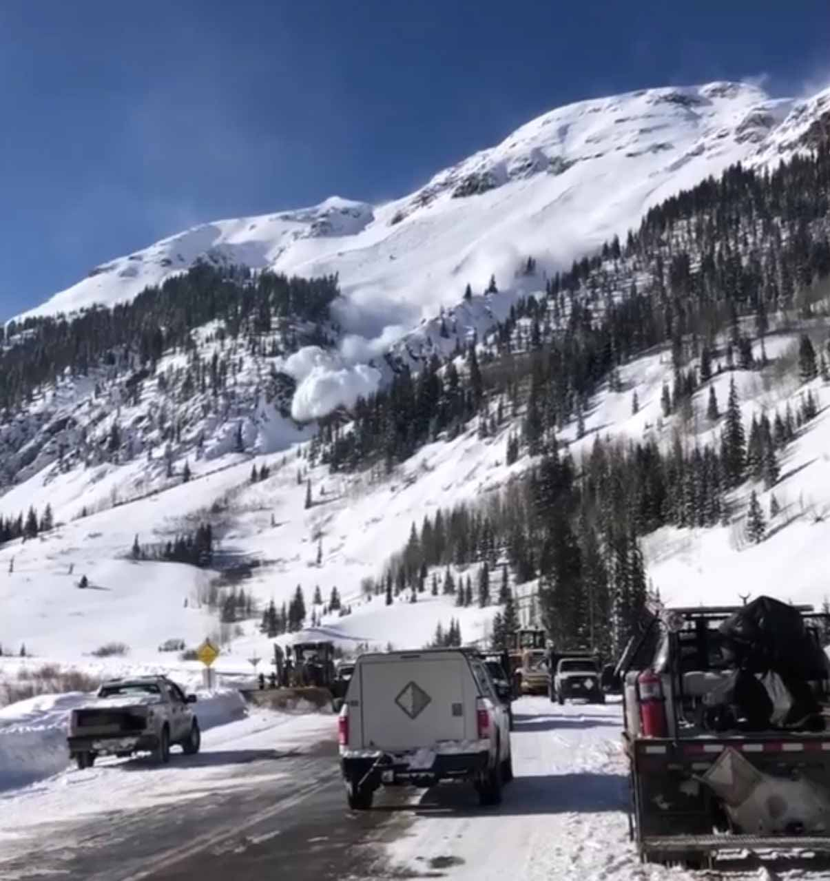 Eagle Avalanche Path