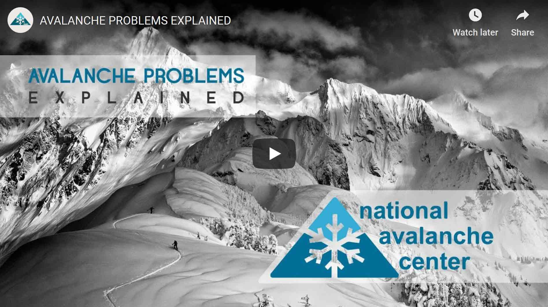 NAC - Avalanche Problems Explained - Video Cover