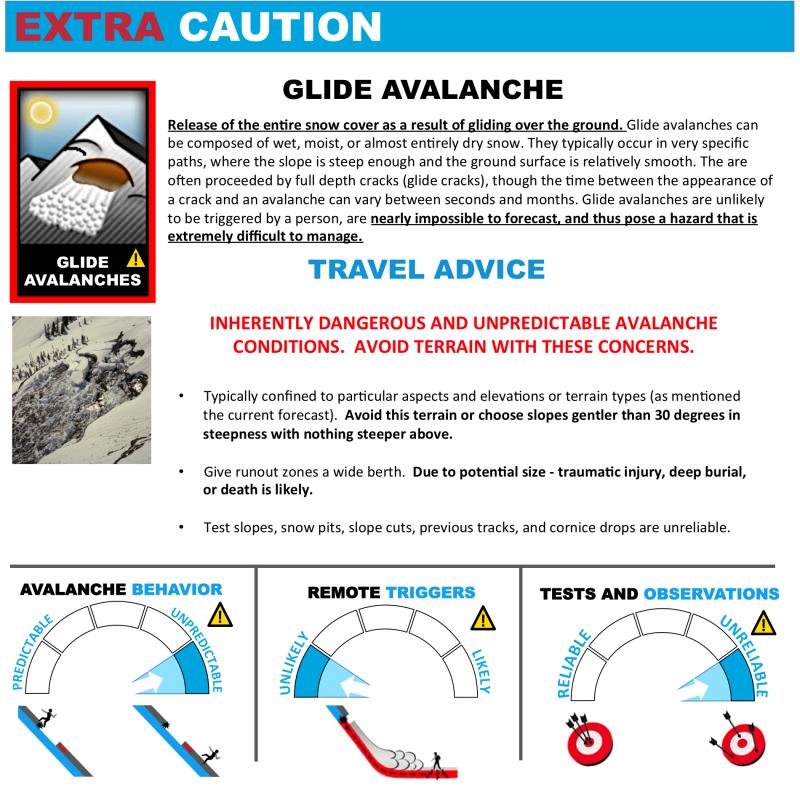 Glide Avalanche