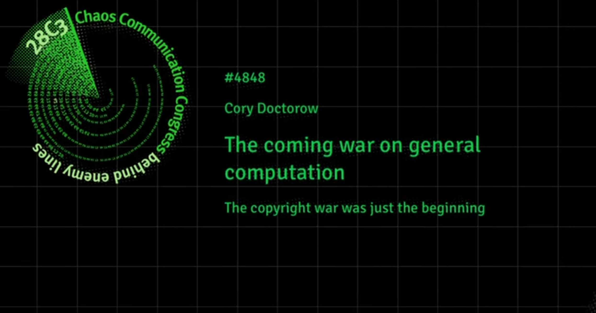 The coming war on general computation