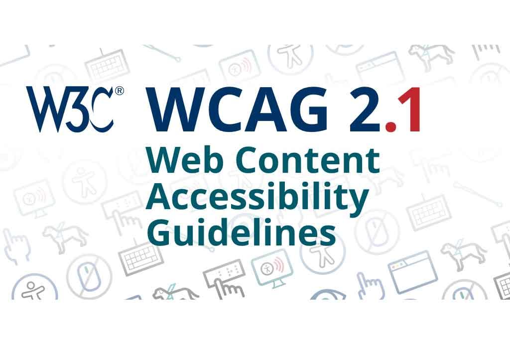 WCAG-2 - International standards from W3C Web Accessibility Initiative (WAI)