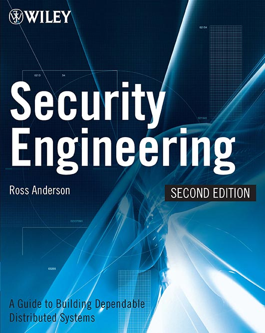 Security Engineering, 2nd ed. - Cover