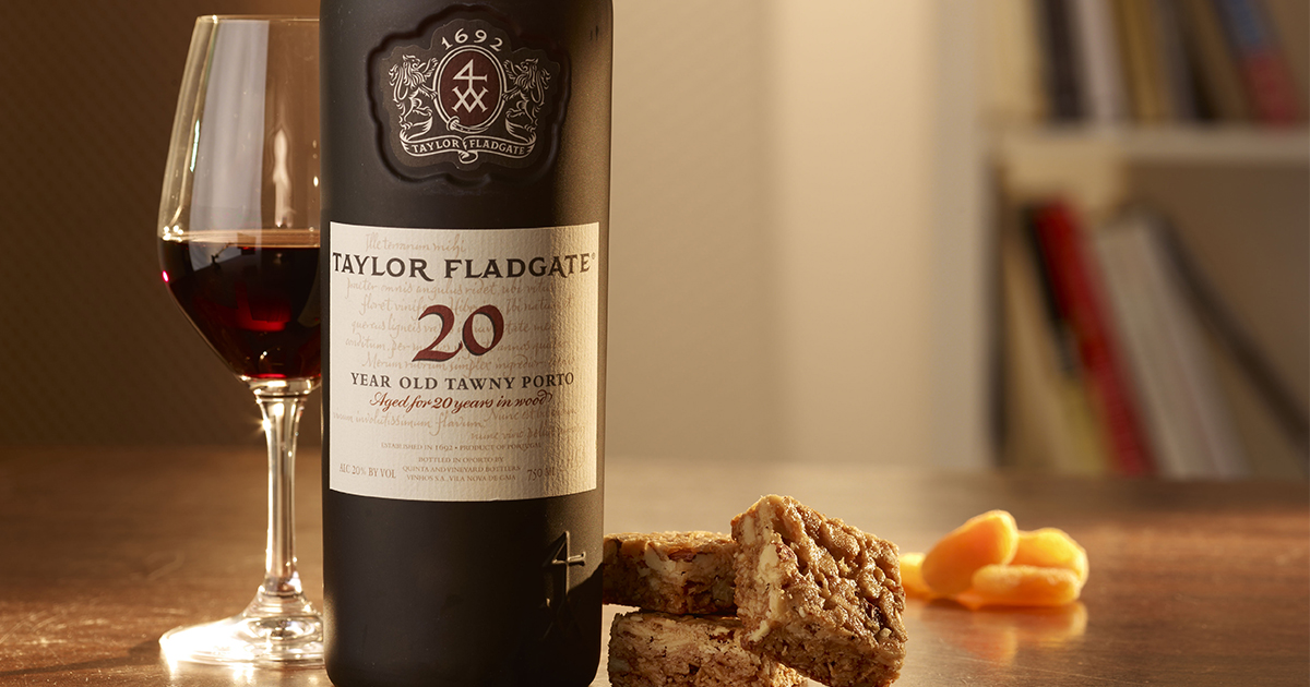 Tawny Port, like this Taylor Fladgate 20 Year, is a great gift for wine pros - as we forget to buy it!