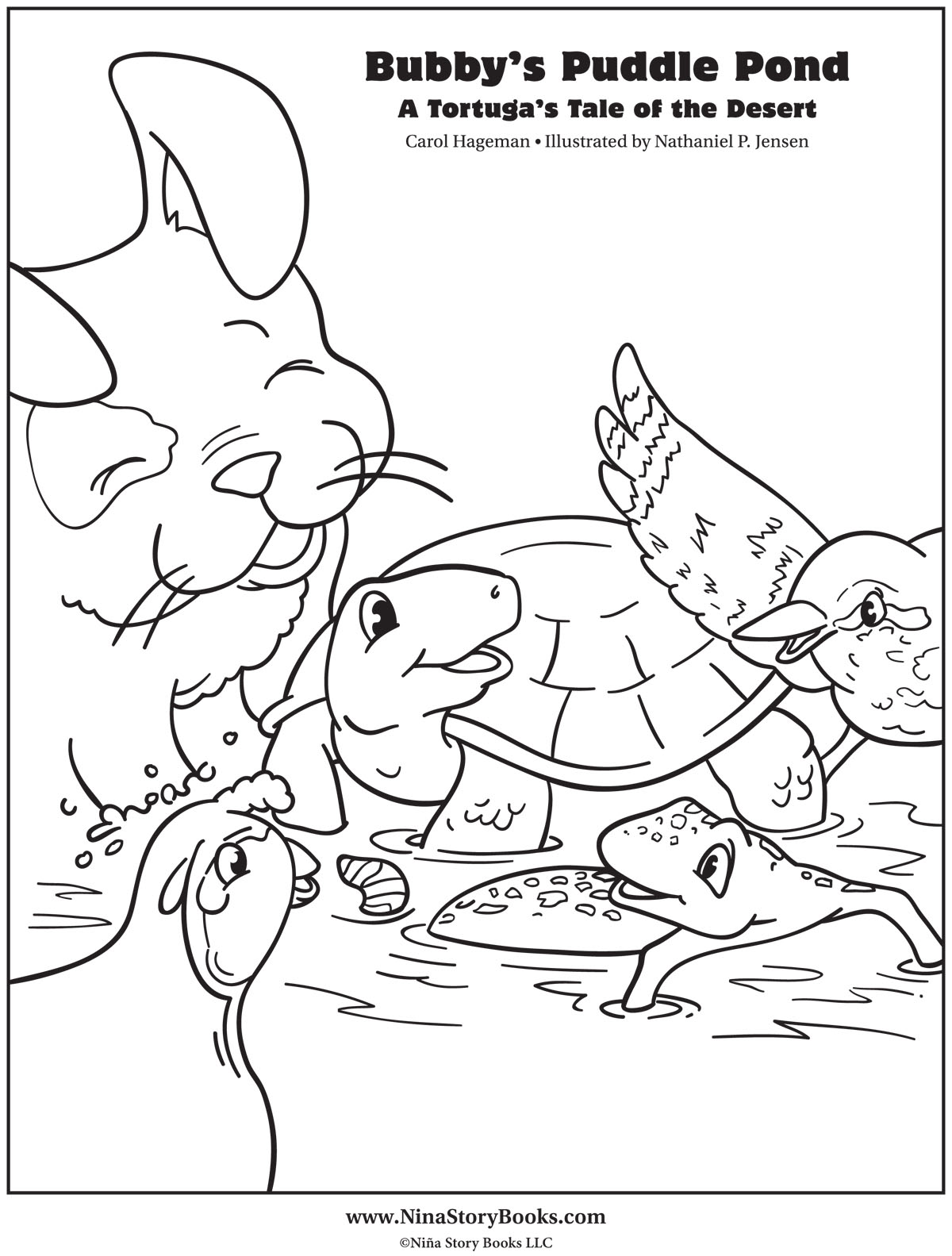 Bubby's Coloring Page