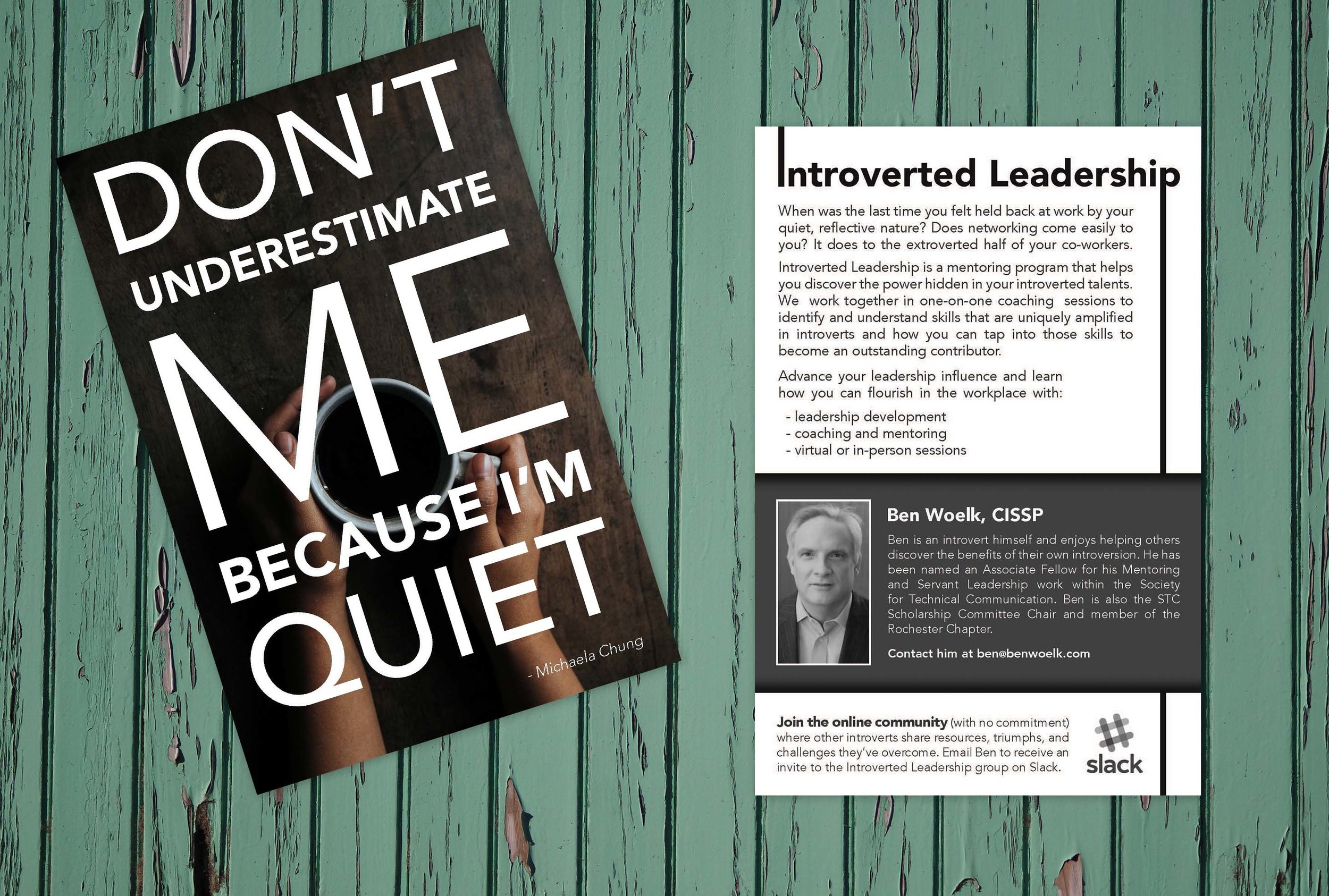 Introverted Leadership Flyer