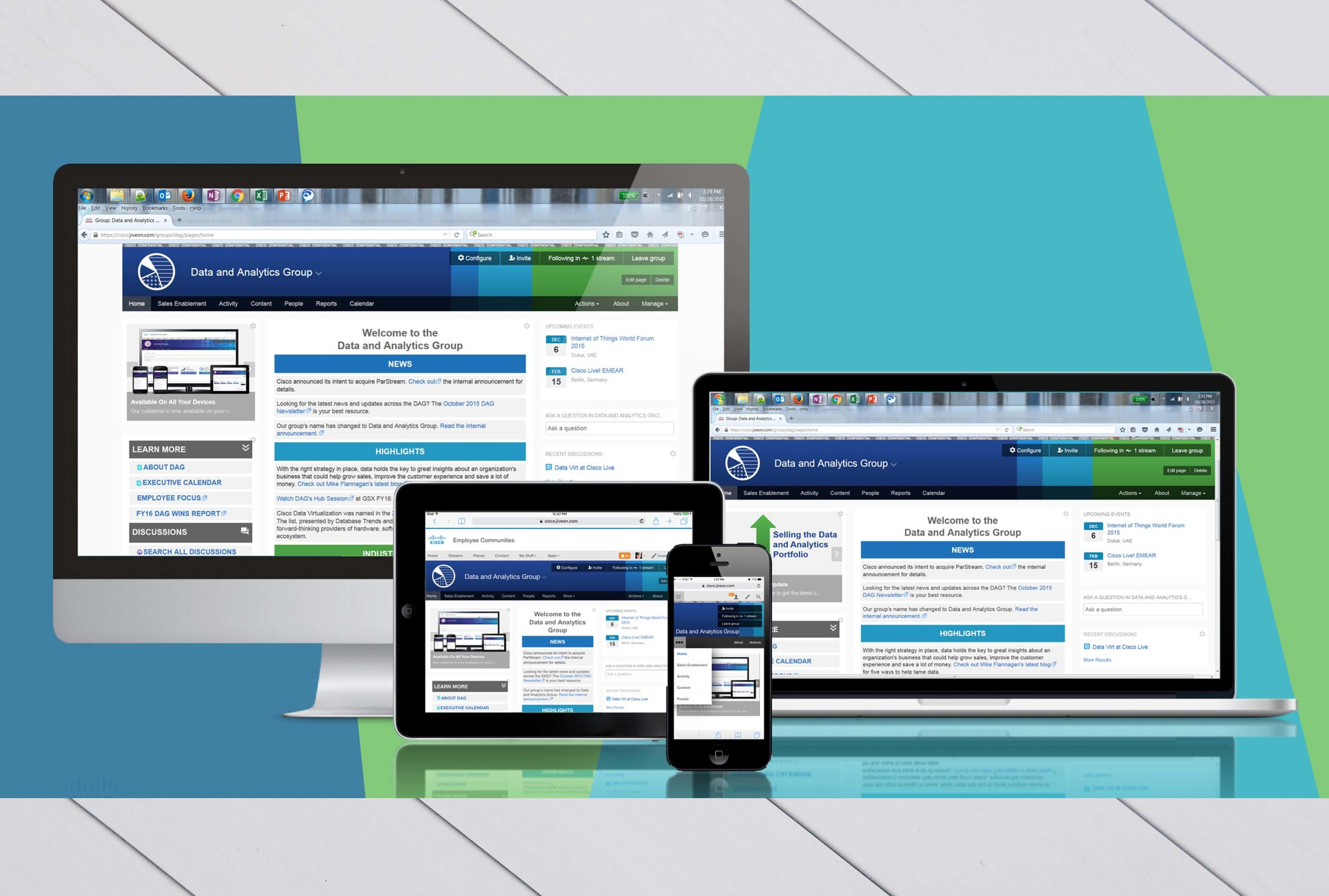 Corporate Intranet Website Design