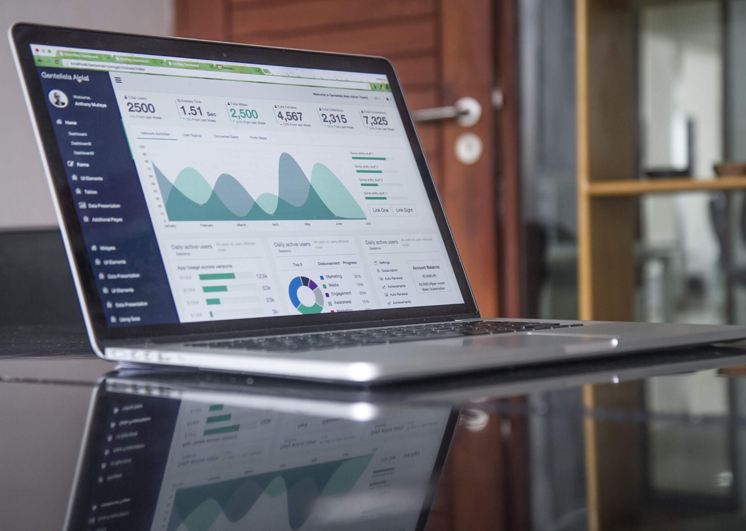 Website maintenance and analytics