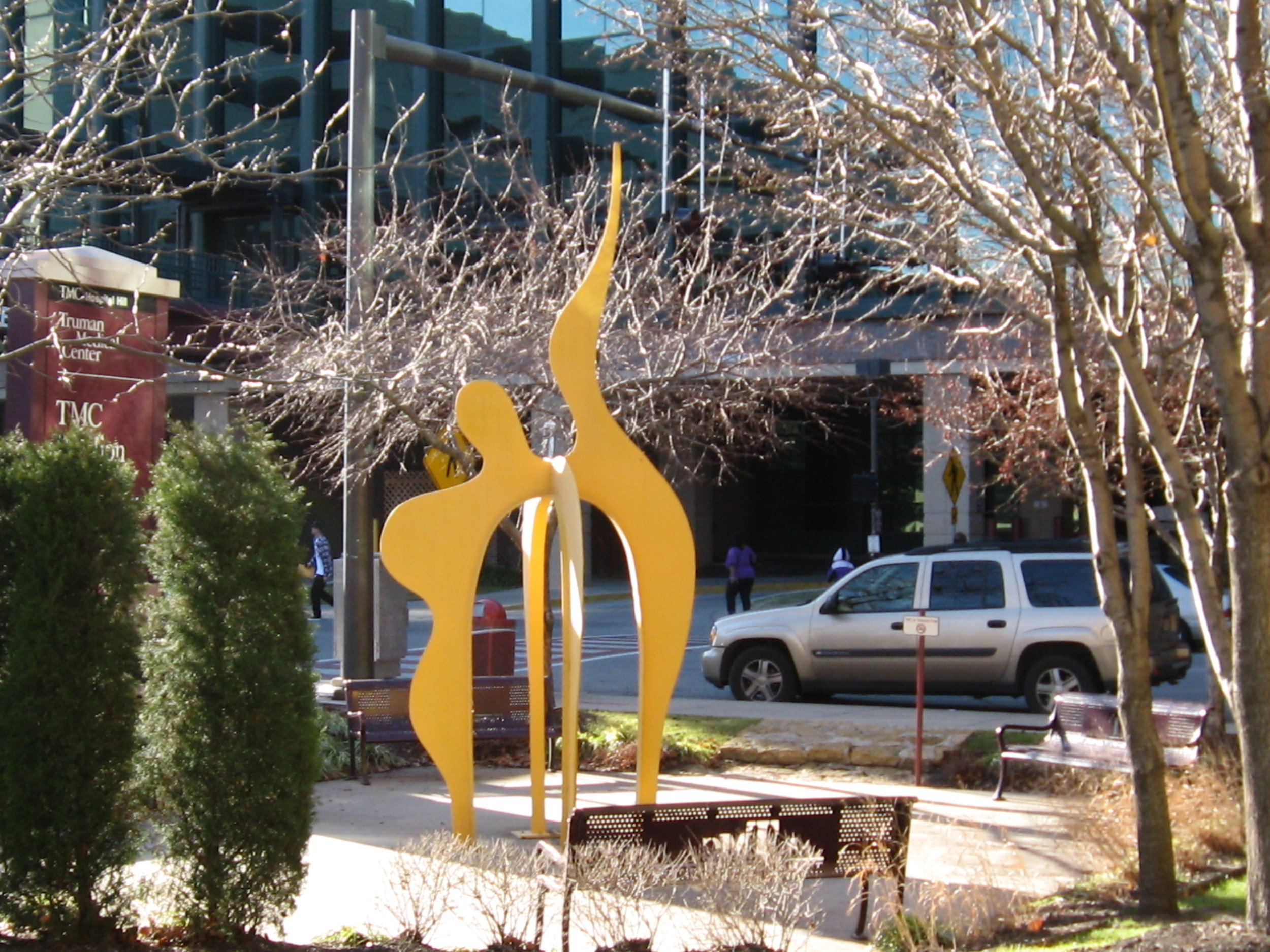 Nessie  2007, painted steel, 16x8x8 ft  Truman Medical Center 2301 Holmes St Kansas City, MO