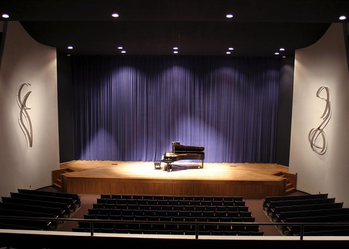 Romeo and Juliet  2003, stainless steel, 13 ft each  White Recital Hall University of Missouri - Kansas City 4949 Cherry Street Kansas City, MO