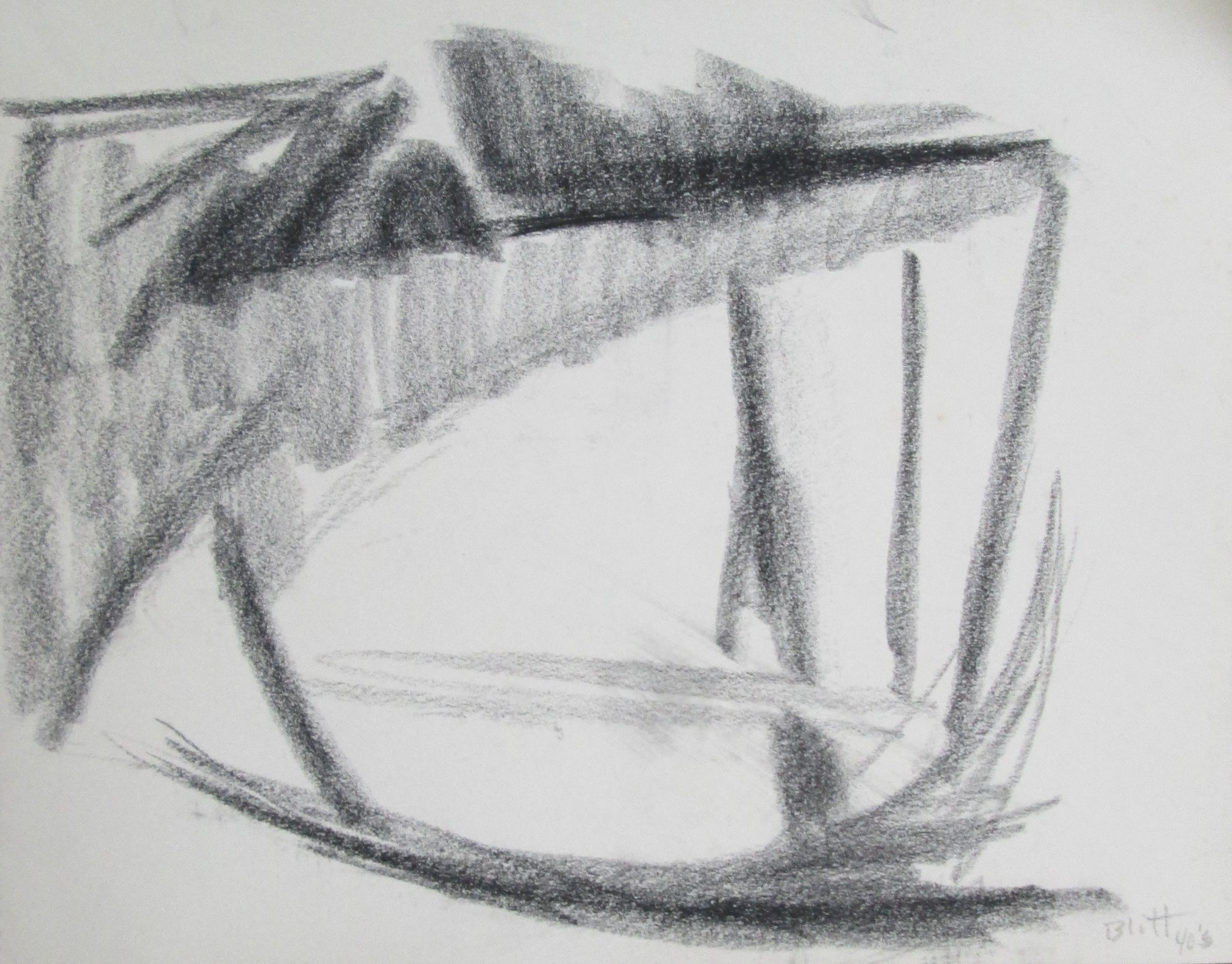 1950.0001  charcoal on paper, 11x14 inches