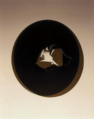 Joy-Pain  1968, acrylic sheet, 23x23x10 in