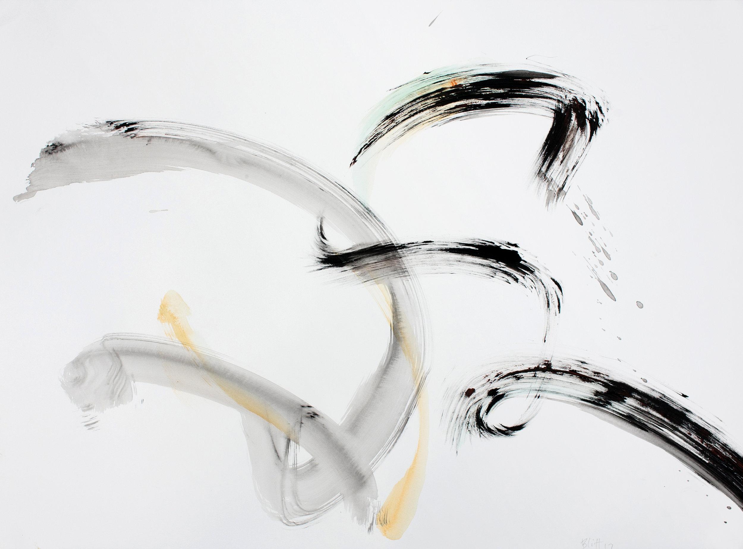2017, acrylic on paper, 22x30 in2017, acrylic on paper, 22x30 in