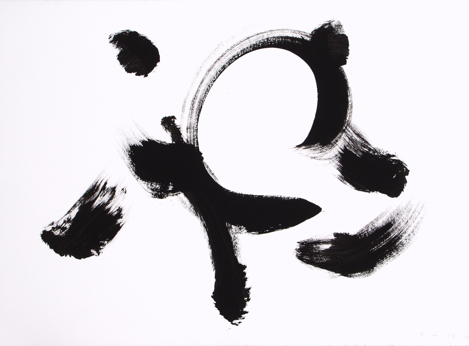 7. Acrylic on paper, 1995.0034, 22x30 inches.JPG