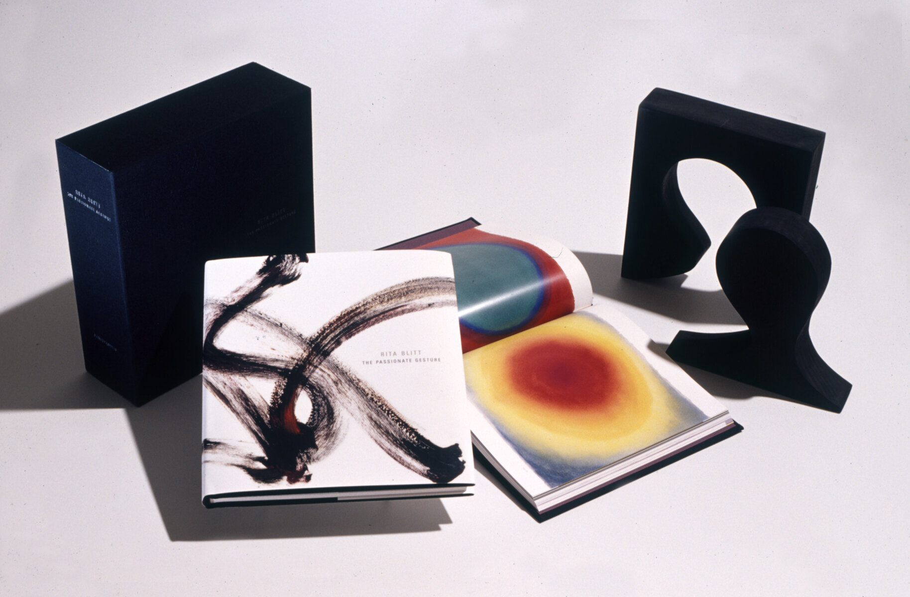 Passionate Gestrue, limited edition, 2001, book and sculpture.jpg