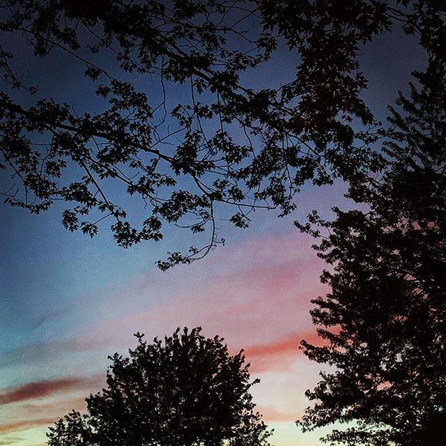 Sunset at #fingerlakes #sunset #camping