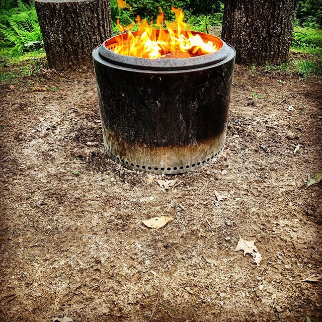 Overdue for my favorite pastime. @solostove fire pit. #solostove #fathersdayfire #naturelover #getoutside