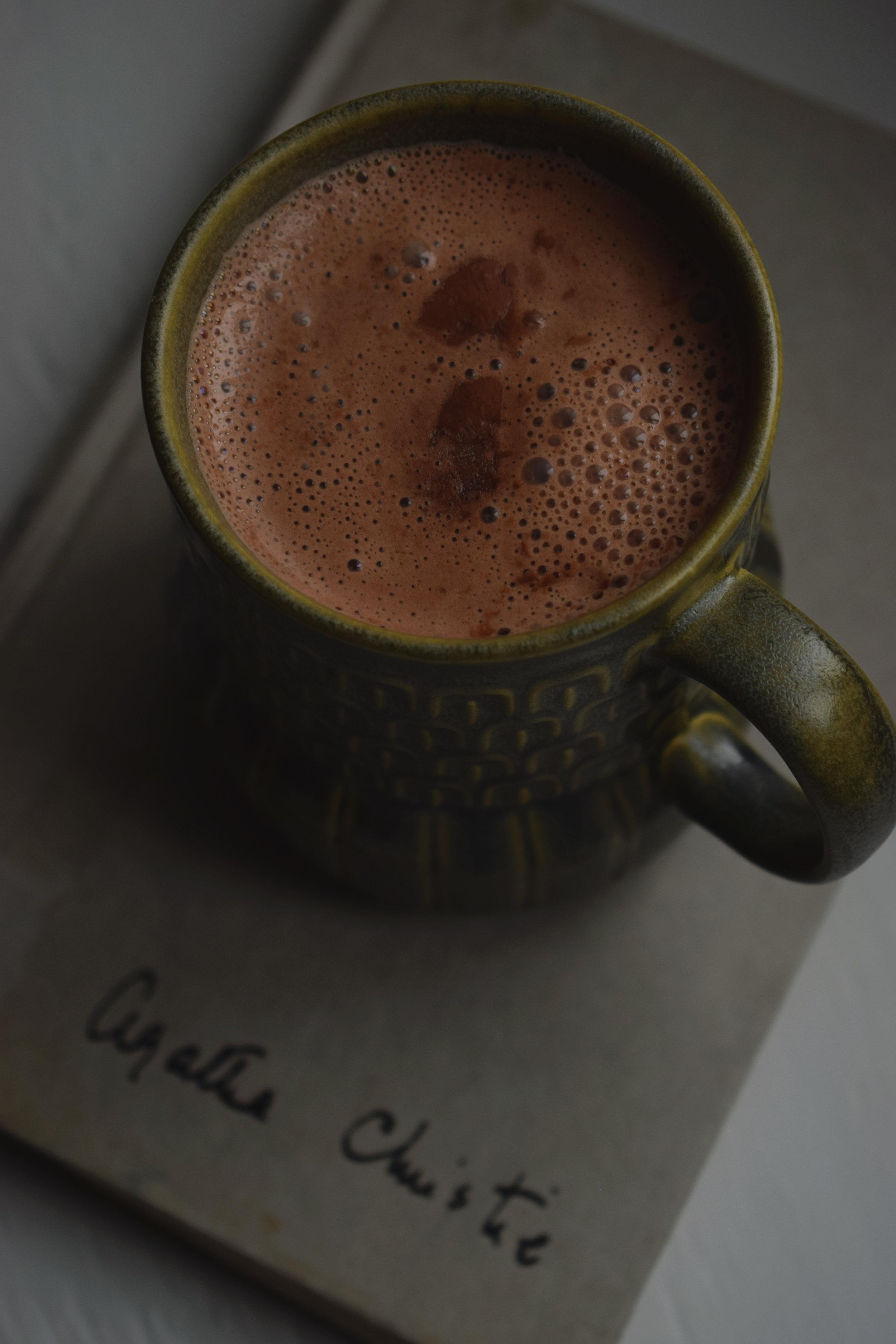 hot chocolate and Agatha.jpg