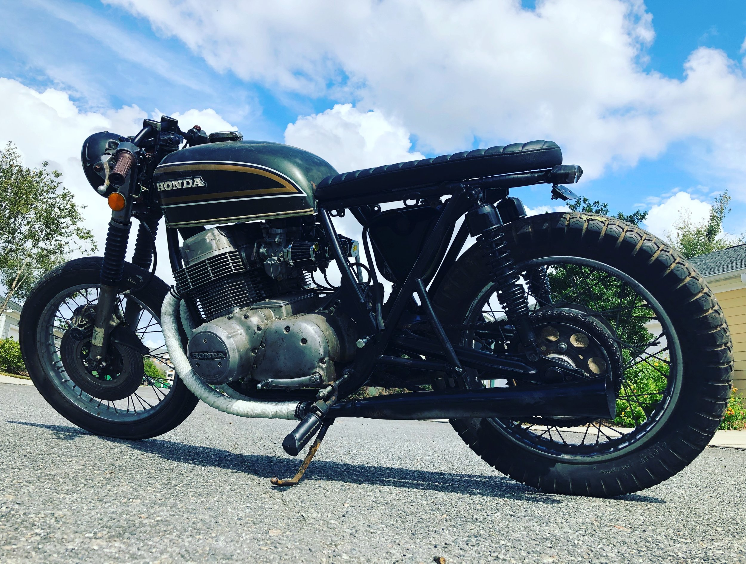 1973 CB750 - Great project bike. Needs finishing up. I have the wiring harness, coil pack as well as other items needed for completing.Available $1,200. email twopencemotorbikes@gmail.com