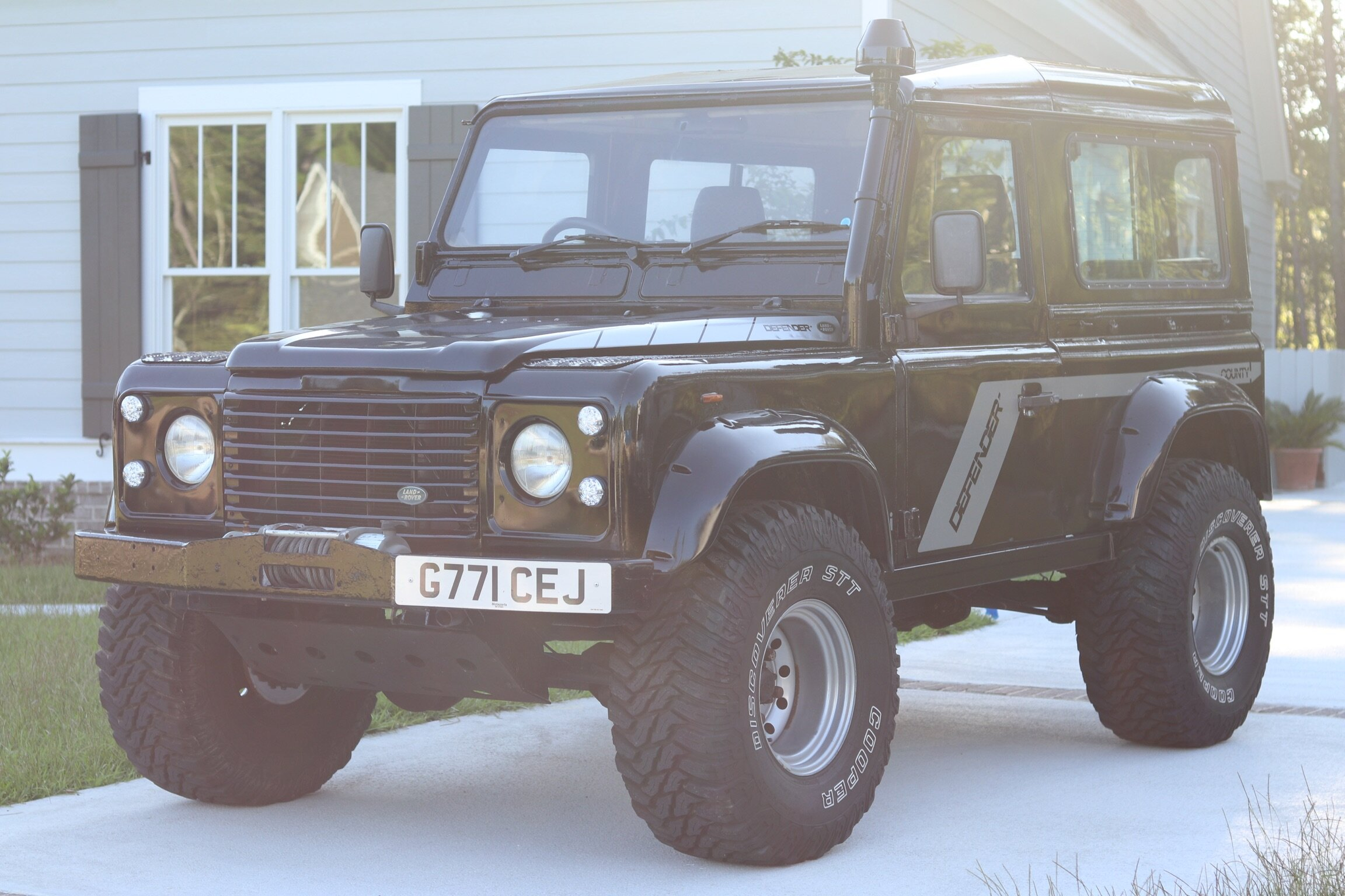 1990 Defender 90 - This Defender 90 is ready for adventure. Equipped with a 200 TDI motor, snorkel, winch, lift kit & beefy tires & bigger wheel wells to accommodate, this Landy is ready for the beach, mountains or wherever your heart may wander.$25,000. AVAILABLE