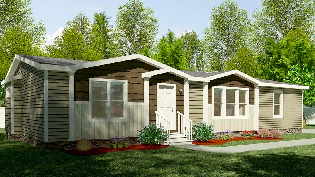 Patriot Manufactured Home sold by Prevatte's Home Sales in Lumberton, NC