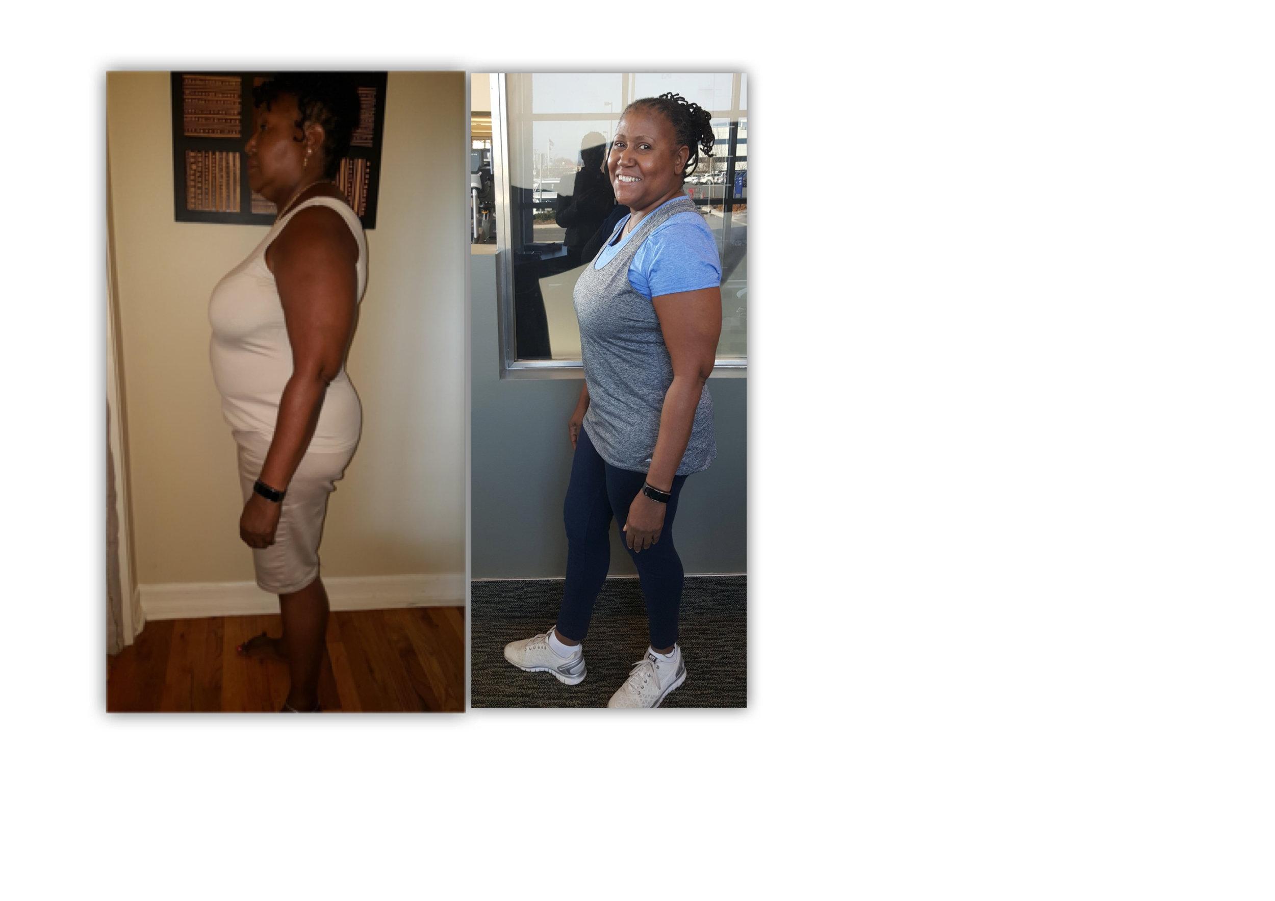 *Akua Lost 27 Pounds!