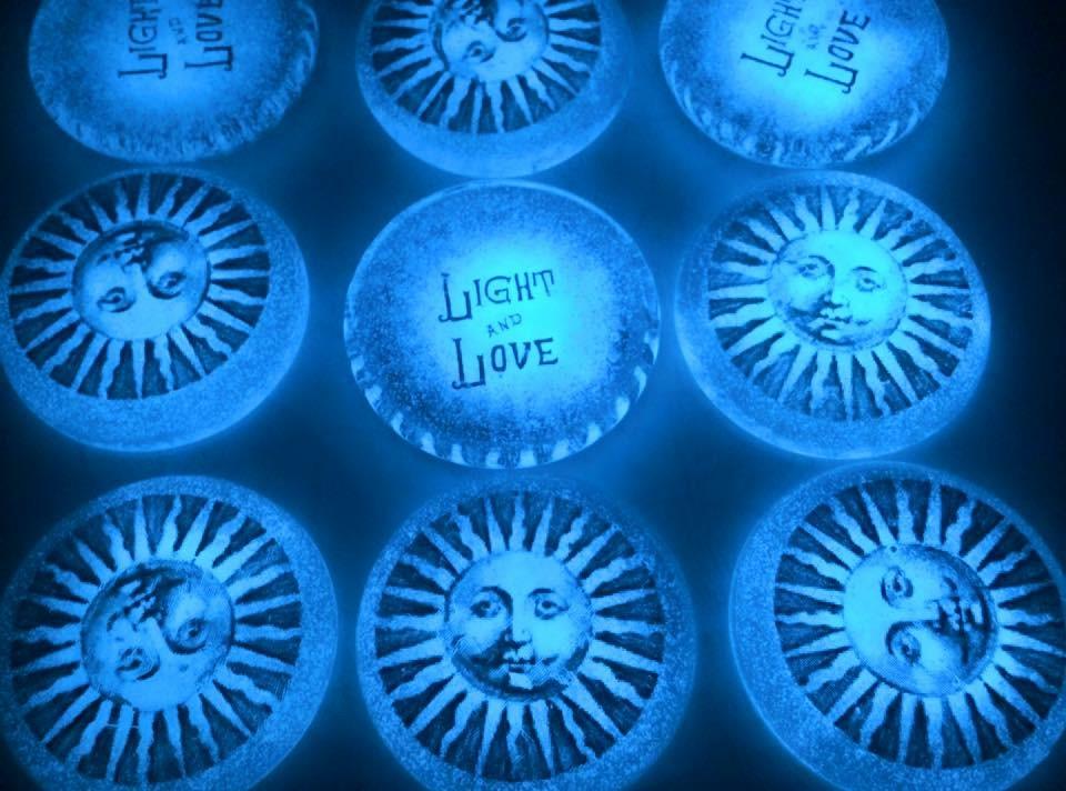 Glowing Light & Love Discs.JPG