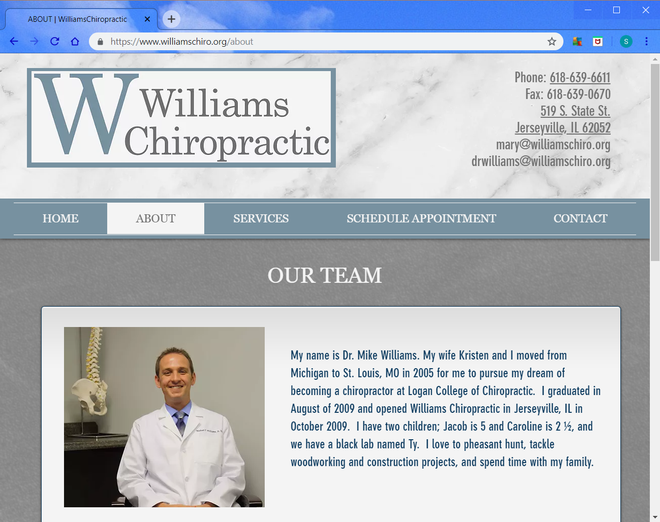 Williams Chiro About.png
