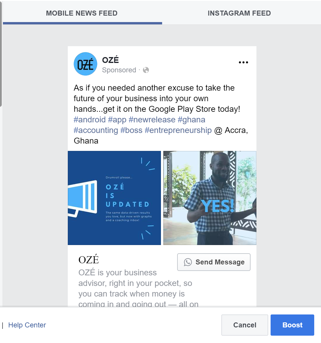 How to Get Started with Facebook Ads - OZÉ Blog - The #1 How to Grow