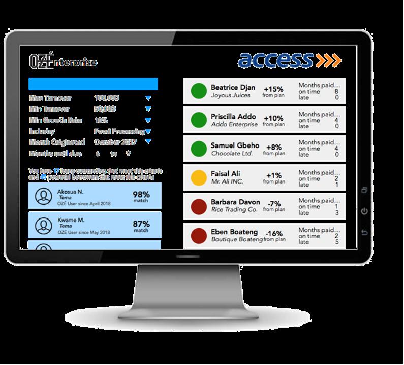 Illustrative example of online portal.