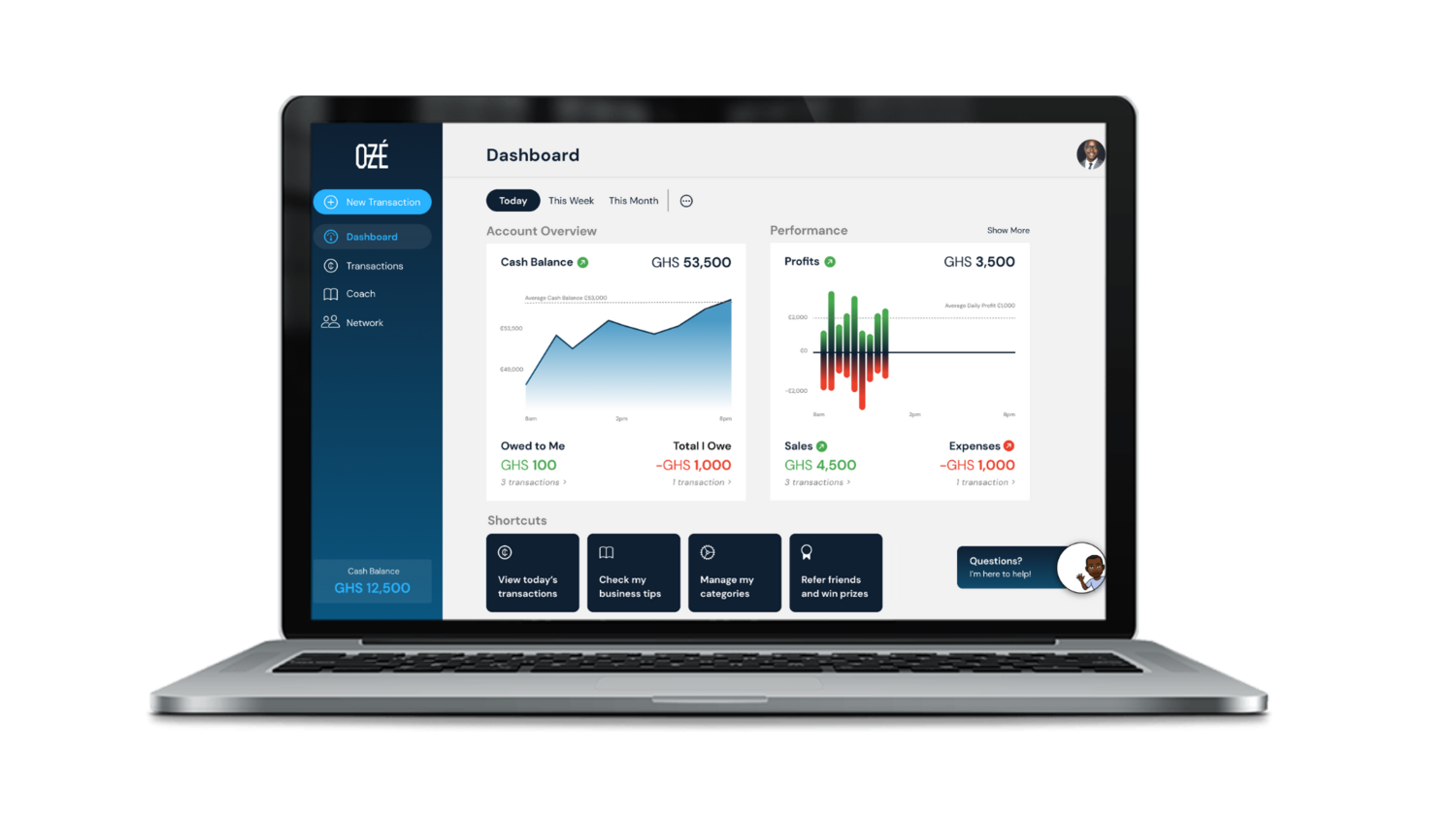 Get a dashboard and receive reports on how to grow your business!