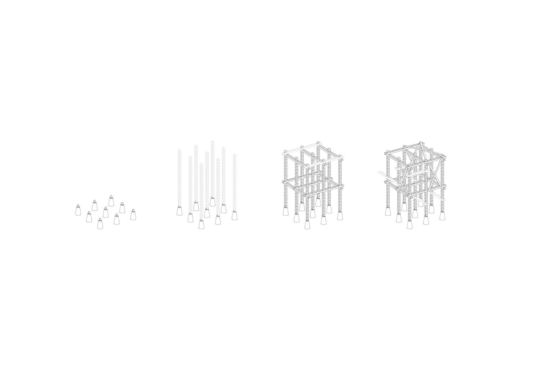 Montage du squelette structurel