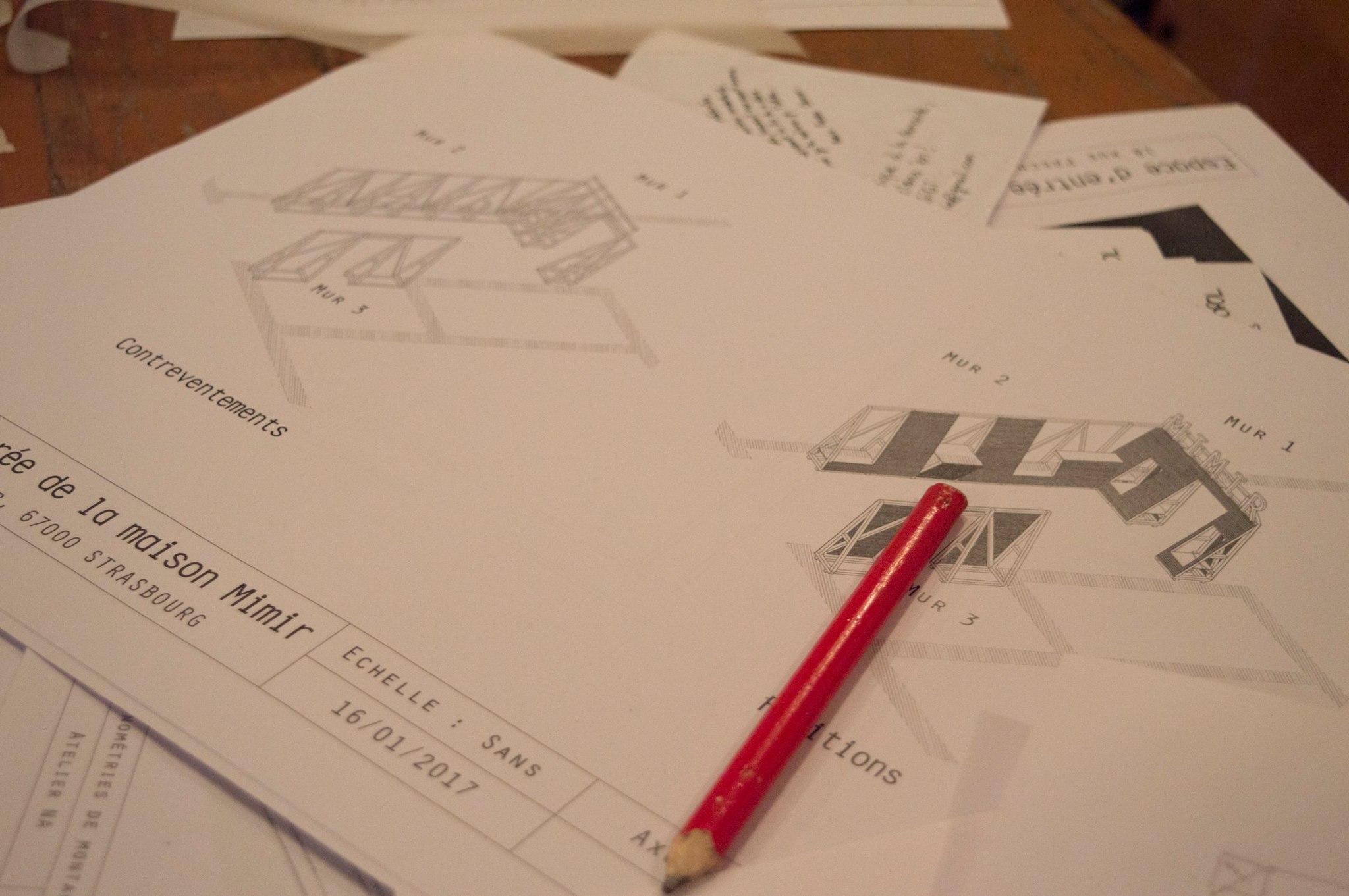 Phase conception dans la maison Mimir