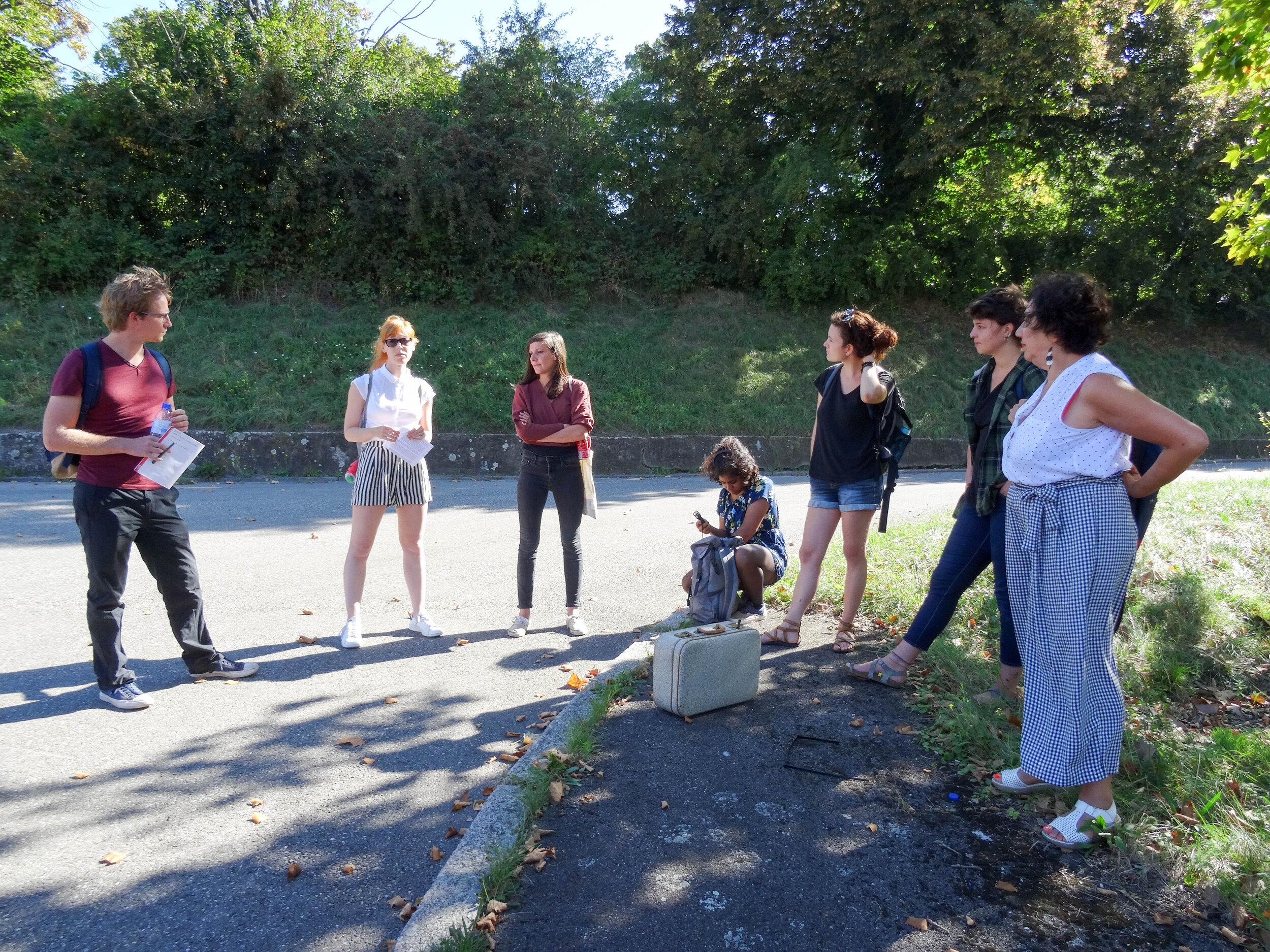Visite de site thématique avec Pauline Desgrandchamp et Véronique Ejnes