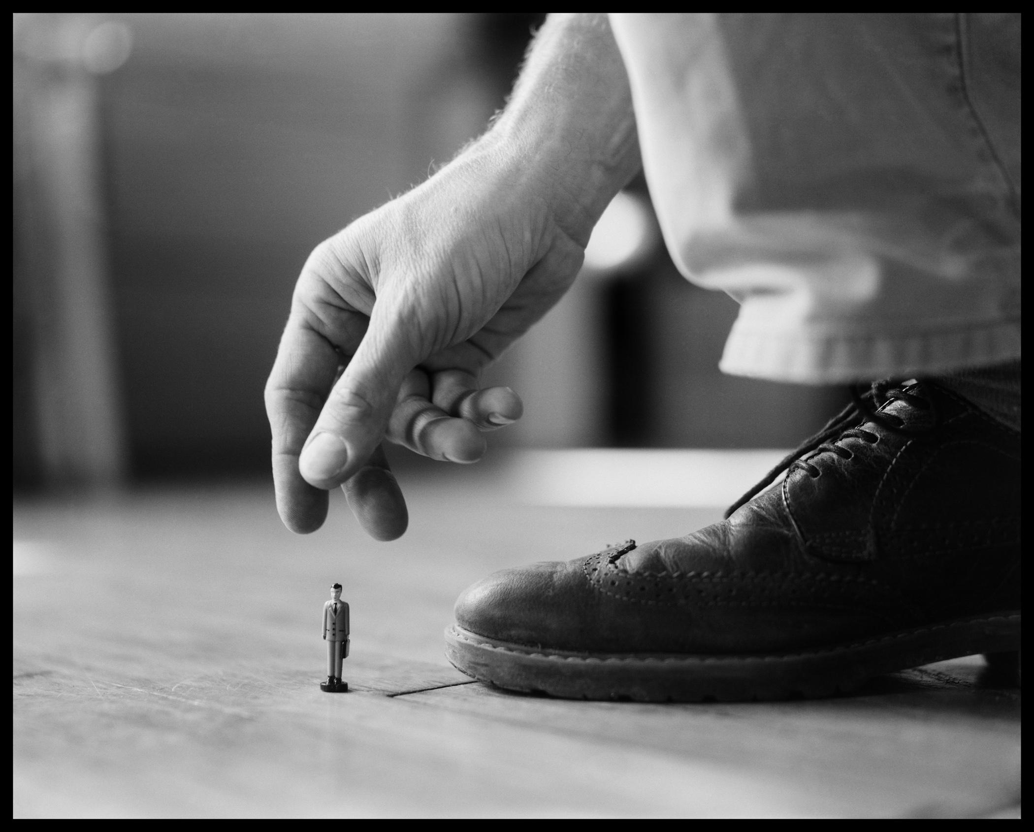 Business Man in Miniature