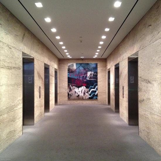 53 State Street Lobby Installation