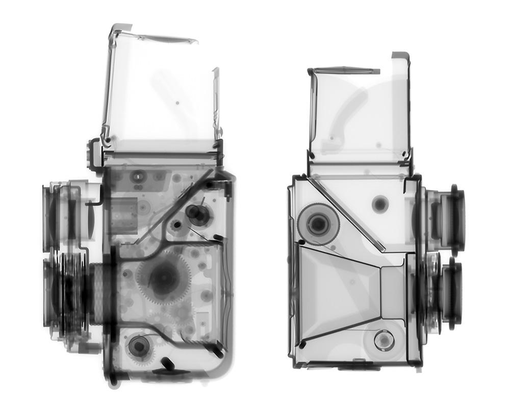 Minolta Autocord and Ricohflex Model VII