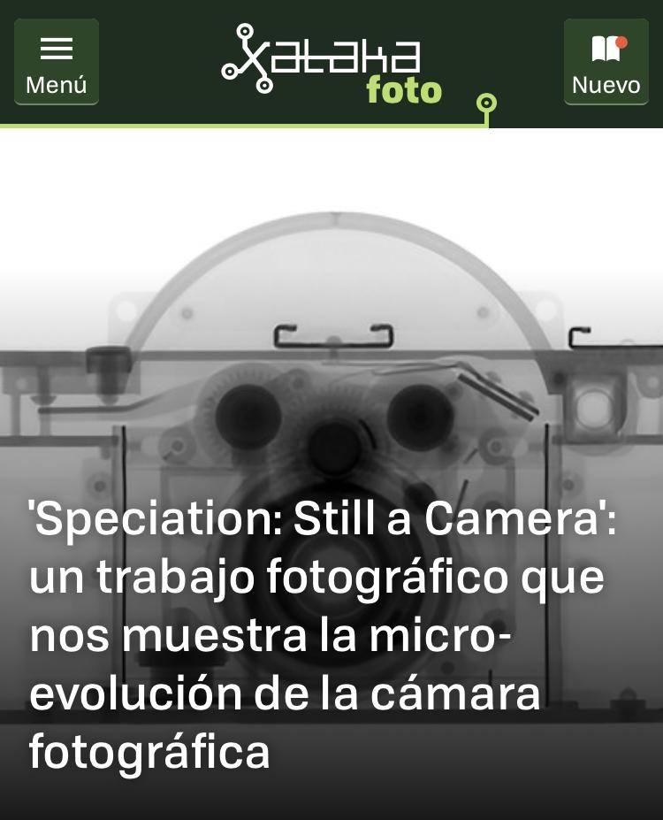Speciation: Still a Camera  May 4, 2018