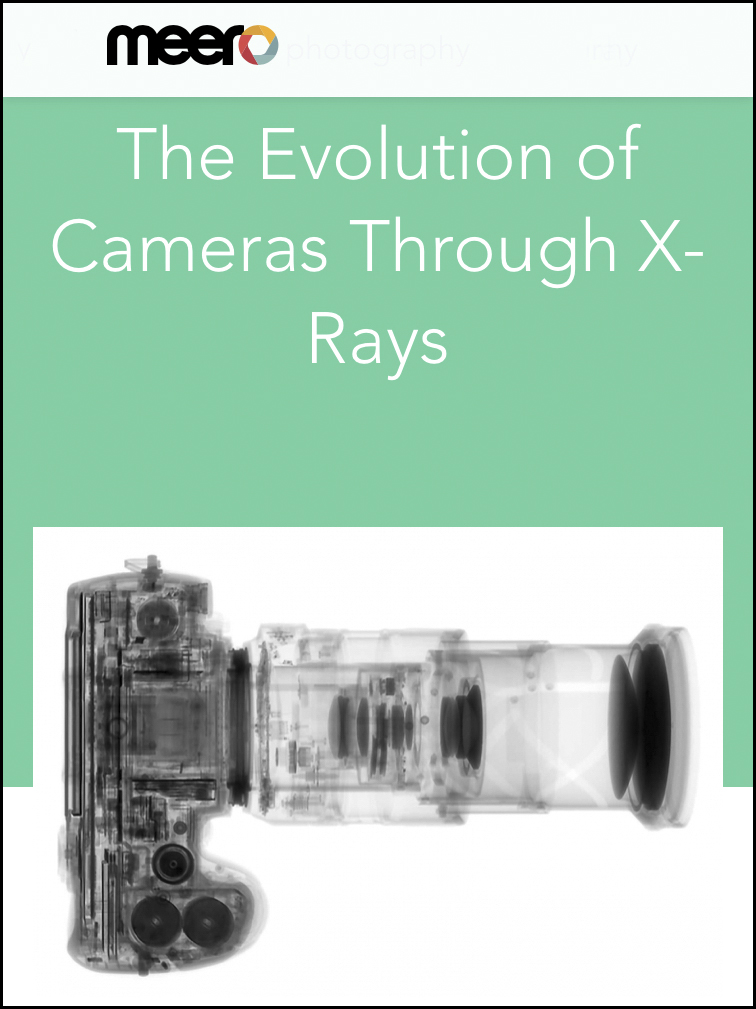 The Evolution of Cameras Through X-rays  May 5, 2018