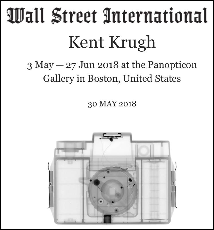 Kent Krugh at Panopticon Gallery May 30, 2018