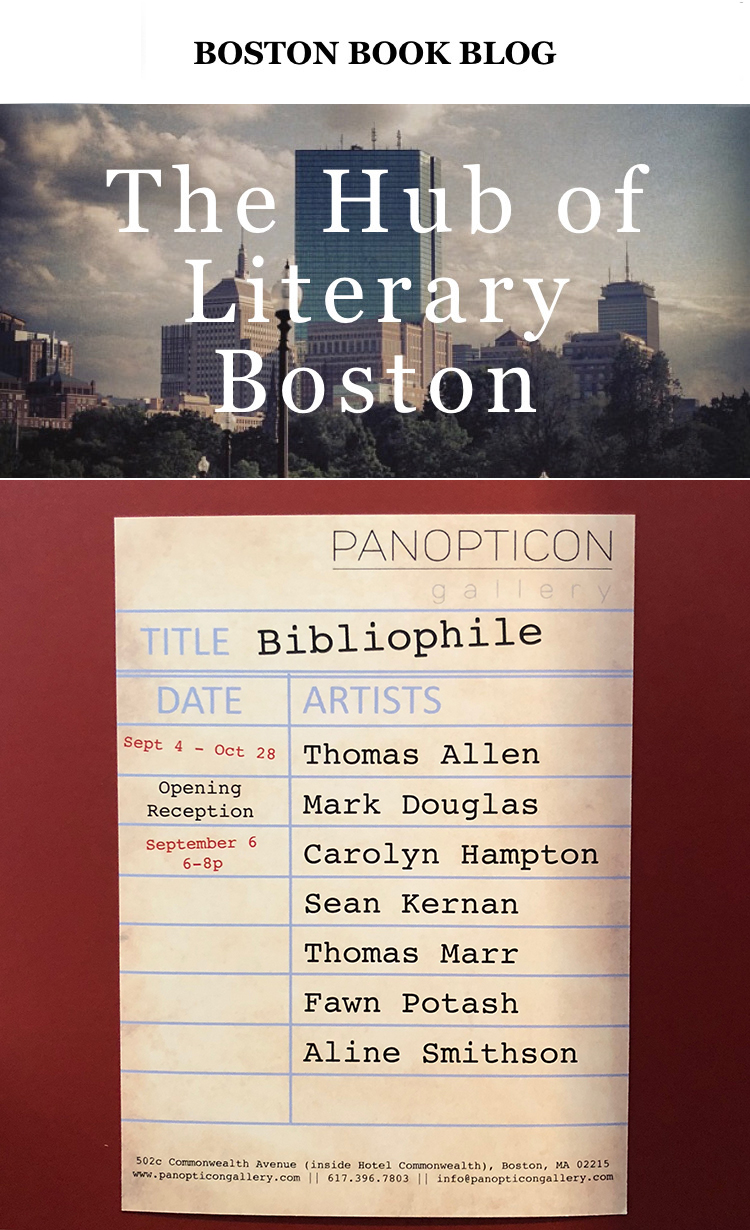 Exploring the Book as Artistic Subject in Panopticon Gallery's Bibliophile October 20, 2018