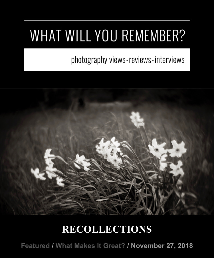 Recollections  November 27, 2018