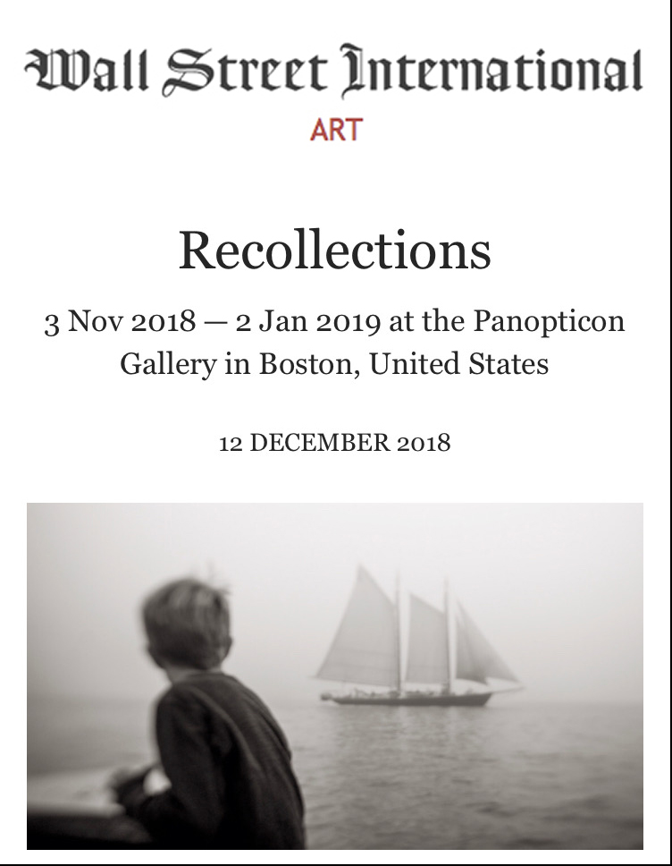 Recollections at Panopticon Gallery  December 12, 2018
