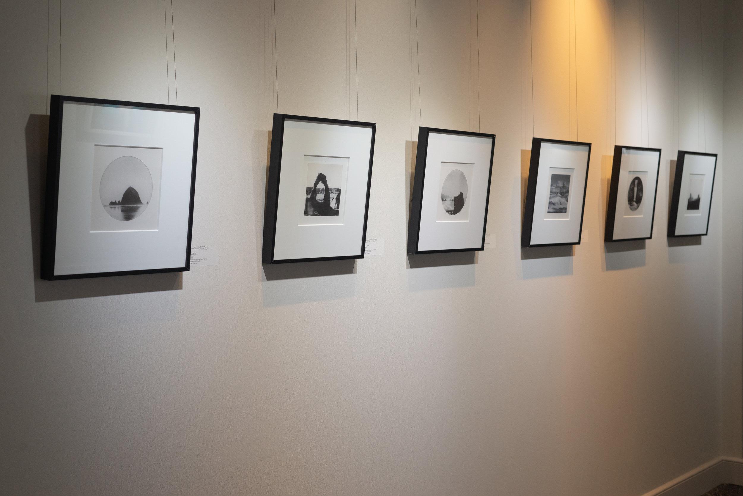 Catie Solden exhibition photo of work