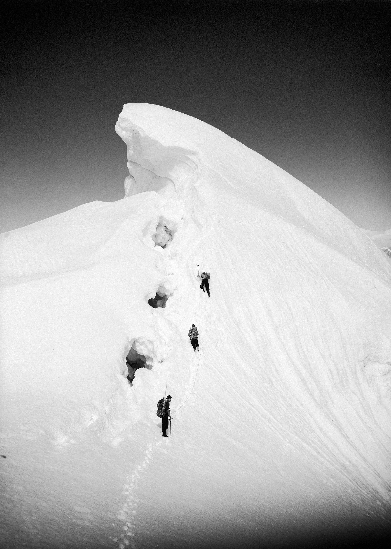 Ridge on Mount Bertha, Alaska