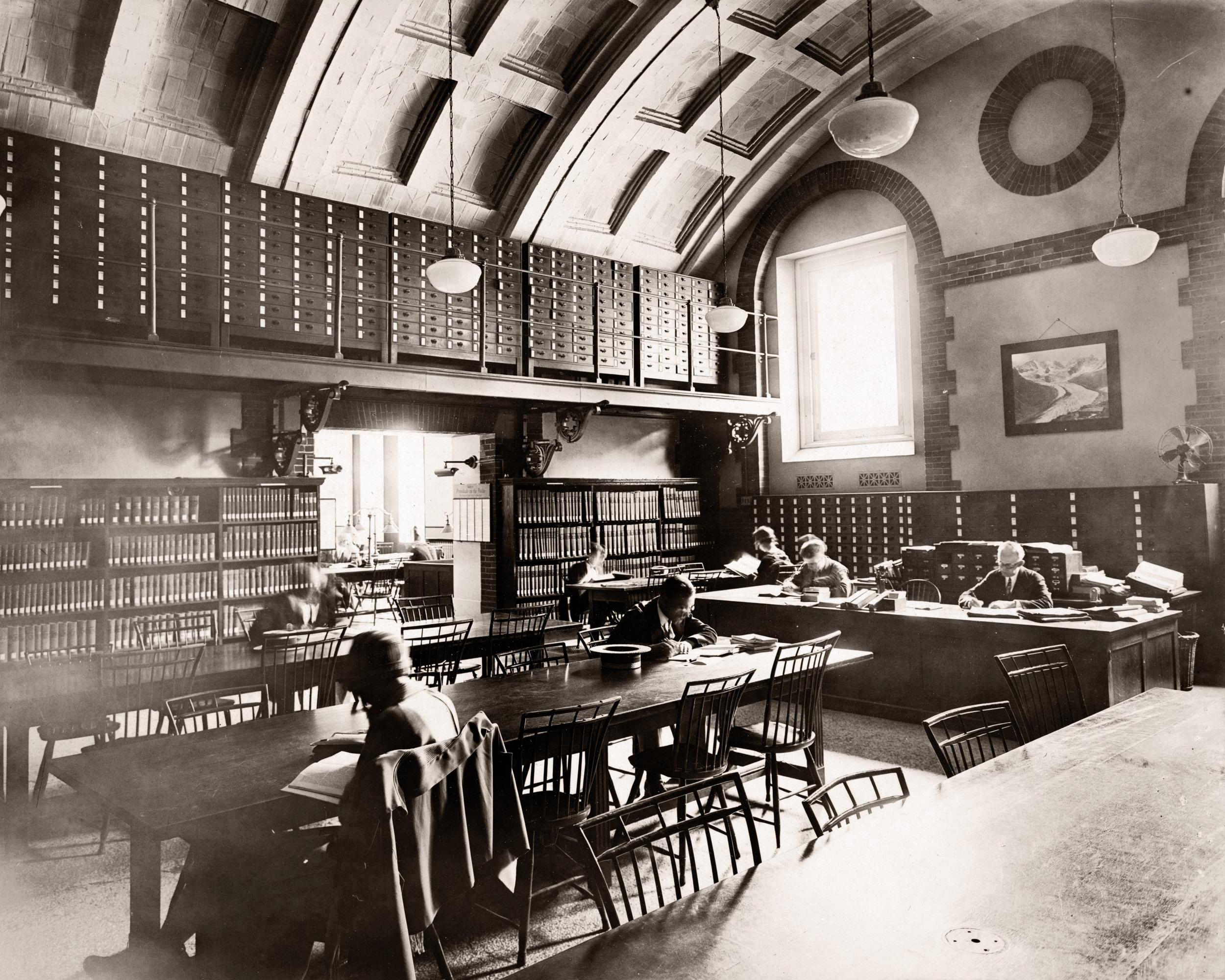 Boston Public Library, Reading Room