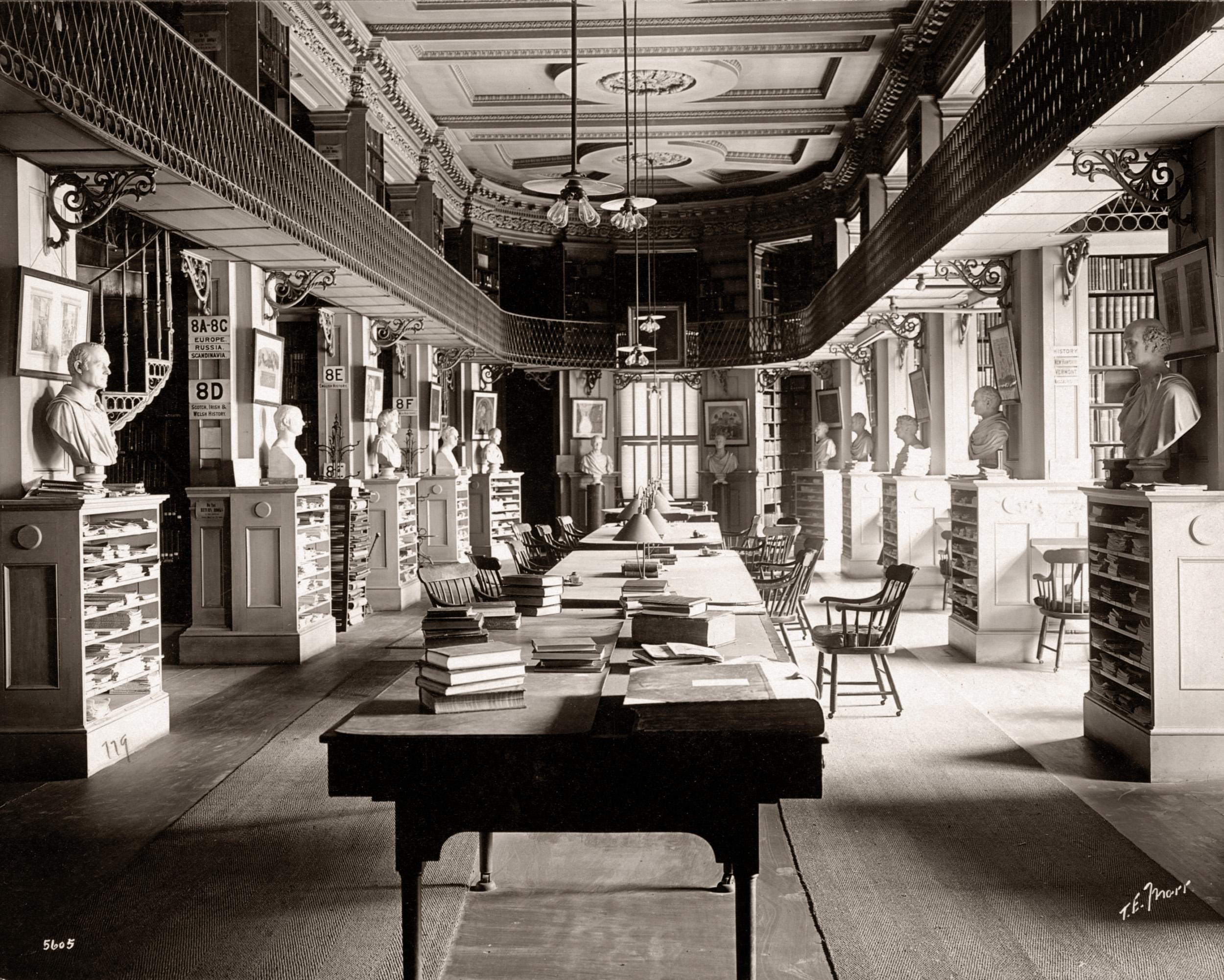 Boston Athenaeum History Section