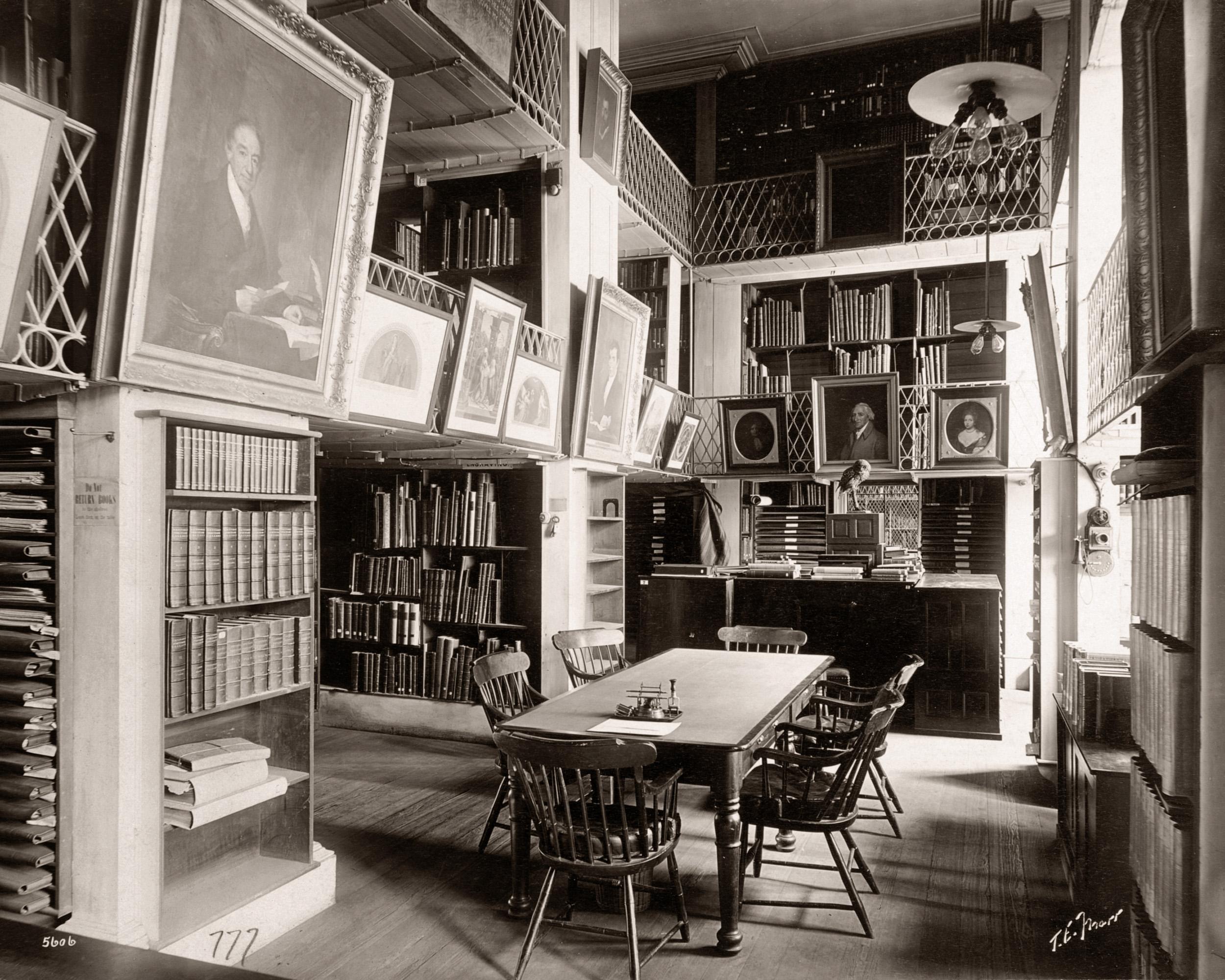 Boston Athenaeum Interior
