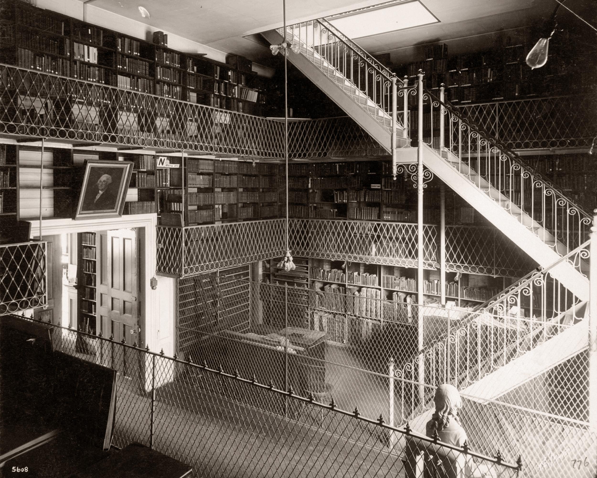 Boston Athenaeum Stacks